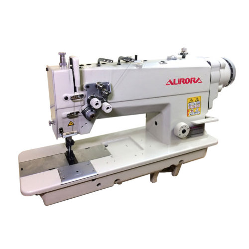 AURORA - A-872D-05 - двухигольная машина