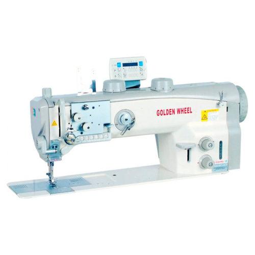 GOLDEN WHEEL - CSU-8672-ABFT/LL - машина для тяжелых материалов и кожи
